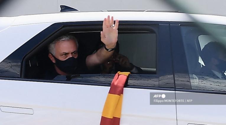José Mourinho, técnico de AS Roma
