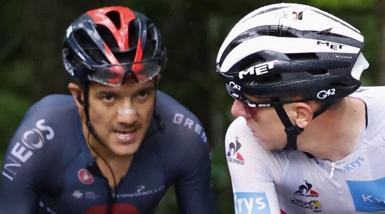 Richard Carapaz, Tour de Francia 2021, Tadej Pogacar