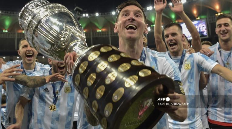 Lionel Messi, campeón de Copa América
