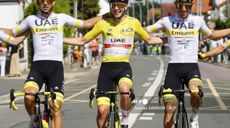 Tadej Pogacar, campeón del Tour de Francia
