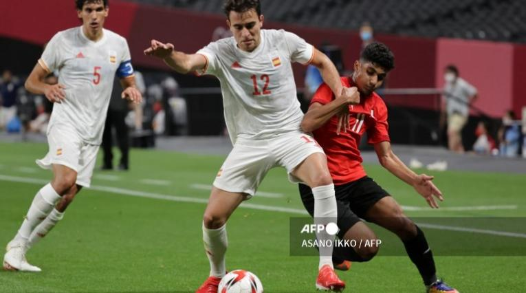 España vs Egipto, Olímpicos