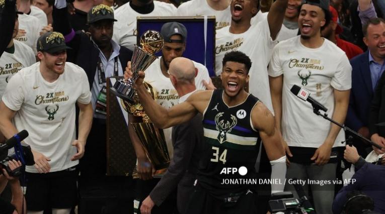 Milwaukee Bucks, campeón de la NBA