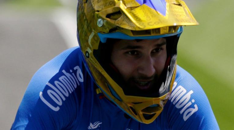 Carlos Ramírez, BMX, Juegos Olímpicos 2021