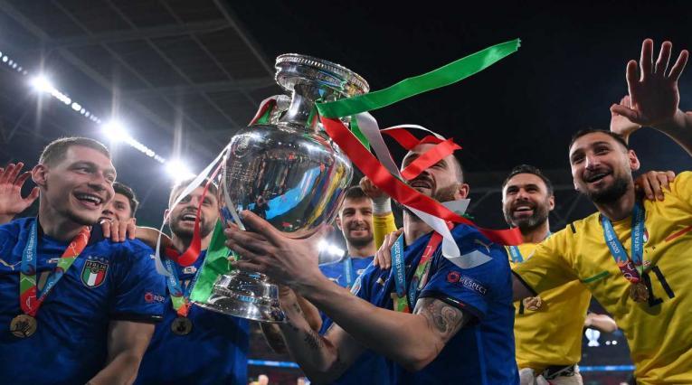 Italia, campeón de la Eurocopa en Wembley