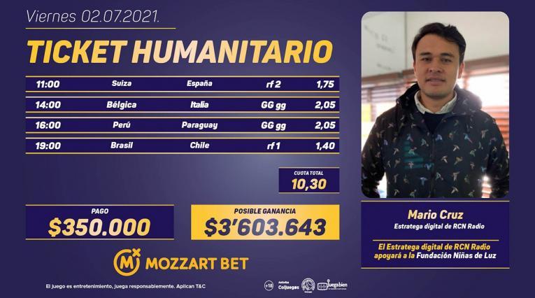 Mozzar Bet, Mario Cruz