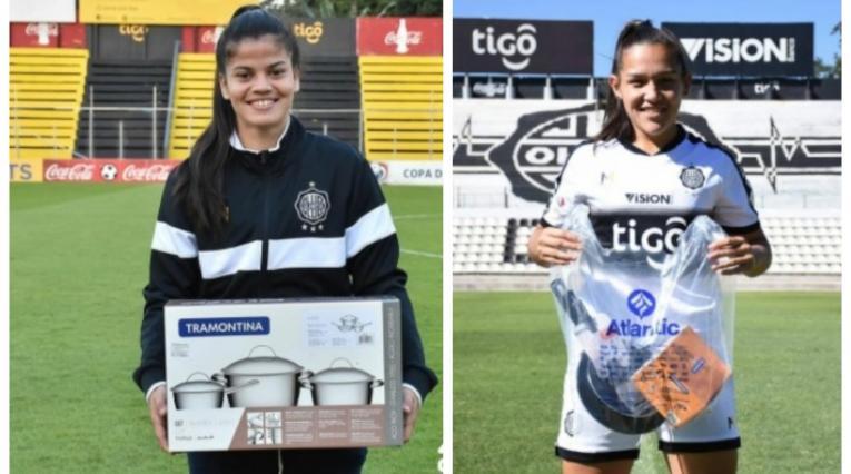 Dahiana Bogarín y Karina Castellanos - Olimpia