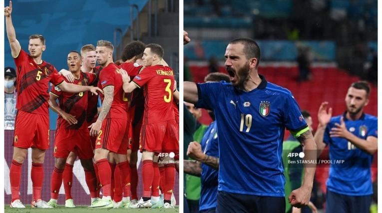 Bélgica vs Italia; Eurocopa 2021