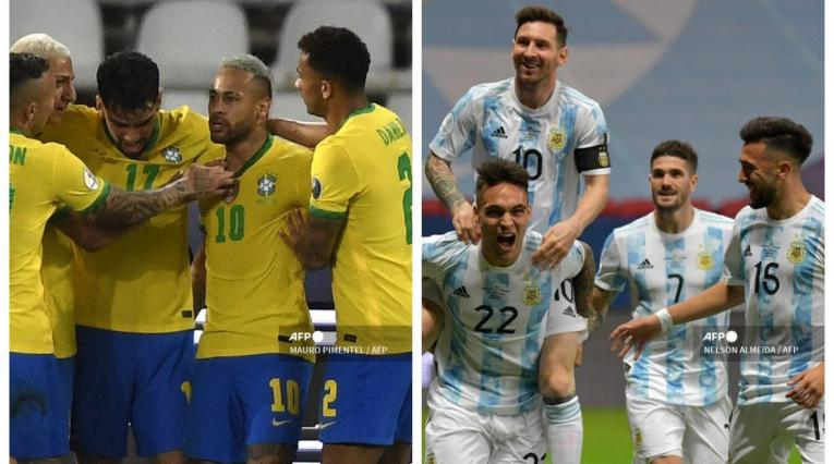 Brasil vs Argentina; Copa América