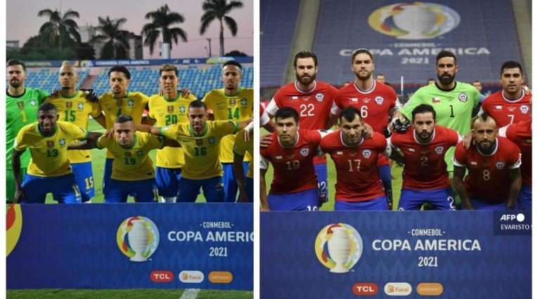 Brasil vs Chile; Copa América 2021
