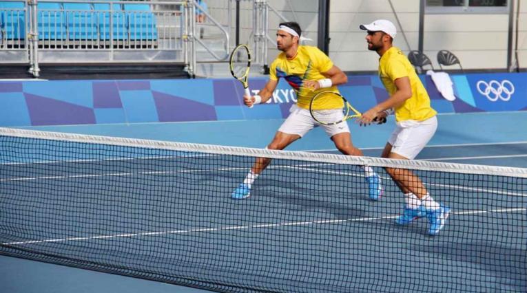 Juan Sebastián Cabal y Robert Farah en los Juegos Olímpicos