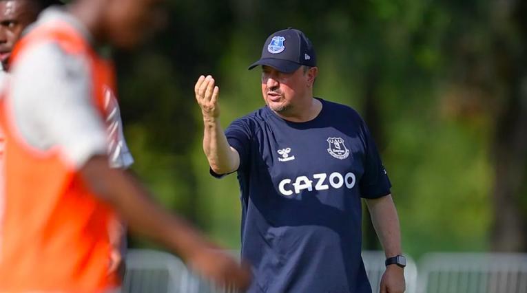 Rafa Benítez, Everton vs Millonarios, Florida Cup 2021
