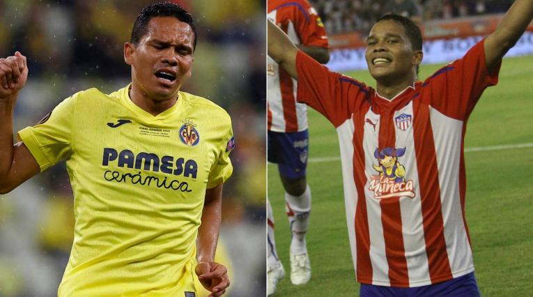 Carlos Bacca, Junior, Villarreal