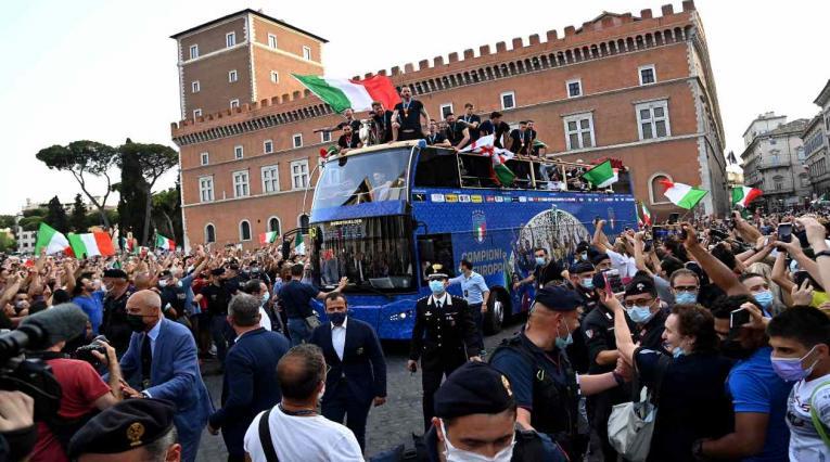 Celebración de Italia