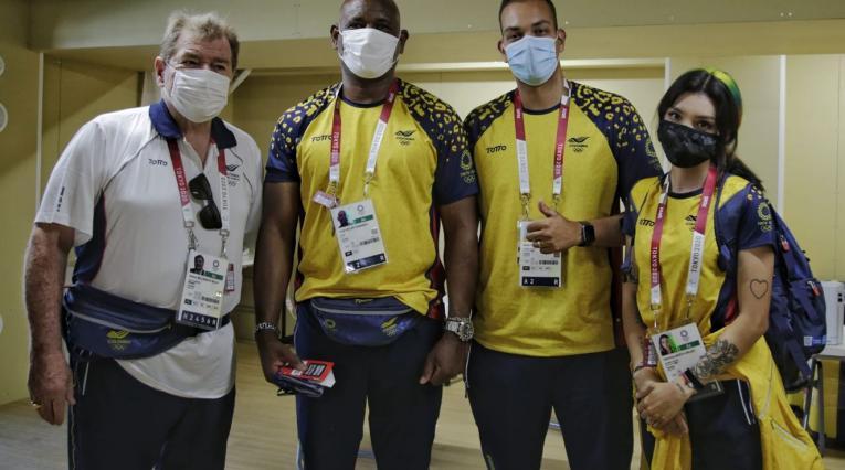 Delegación colombiana Juegos Olímpicos