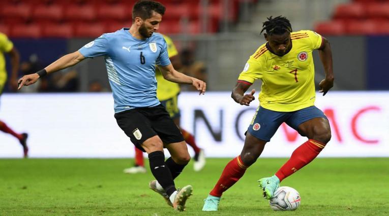 Duván Zapata - Colombia Vs Uruguay