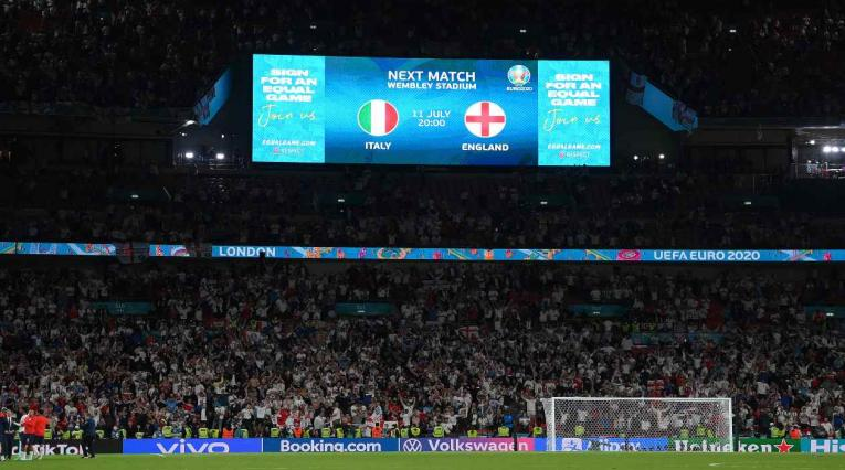 Italia Vs Inglaterra - final de la Eurocopa