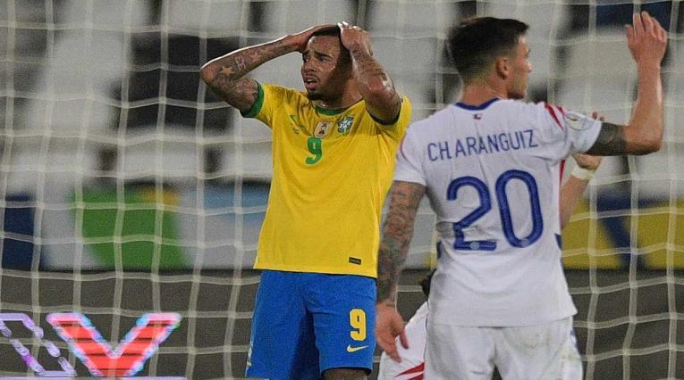 Gabriel Jesús en la Copa América