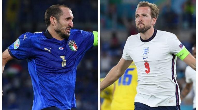 Italia vs Inglaterra; Eurocopa
