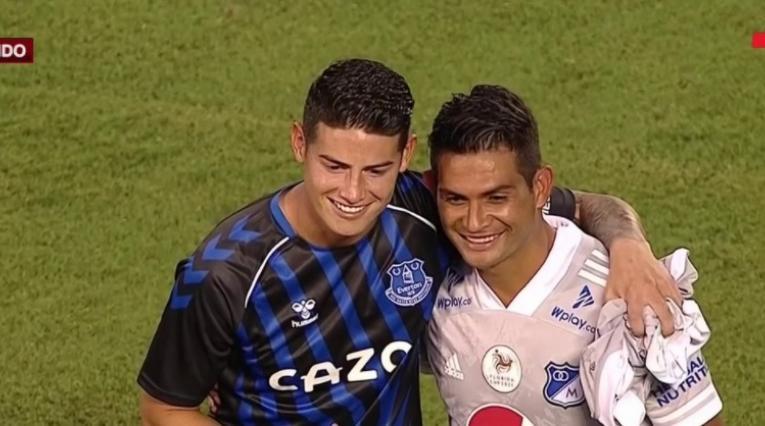 James Rodríguez y Macalister Silva
