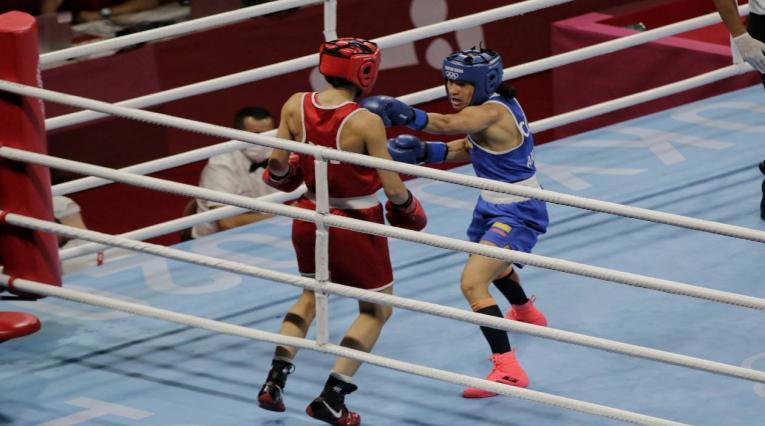 Jenny Arias en los Juegos Olímpicos