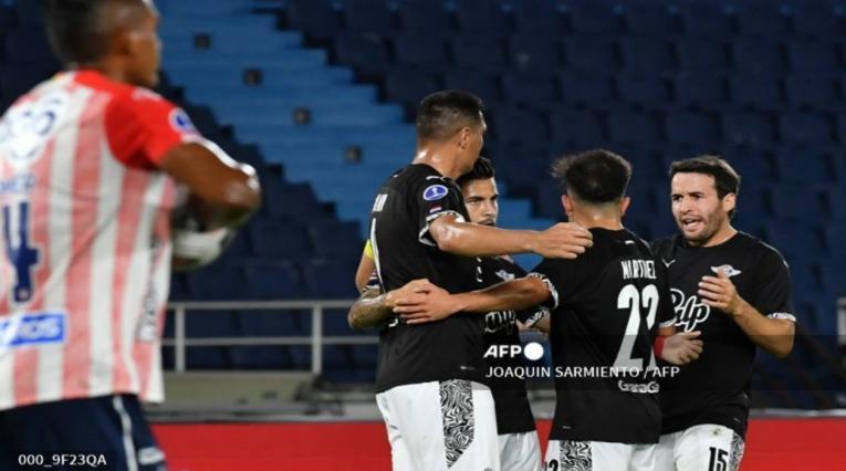 Junior Vs Libertad - Copa Sudamericana