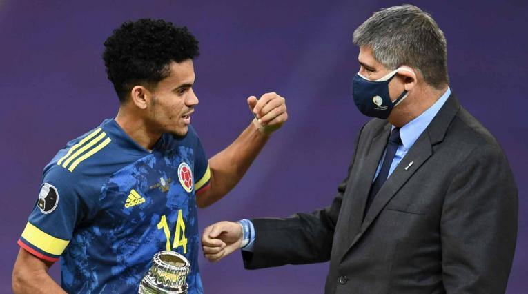 Luis Díaz, jugador revelación Copa América