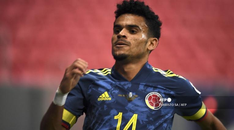 Luis Díaz, jugador de la Selección Colombia