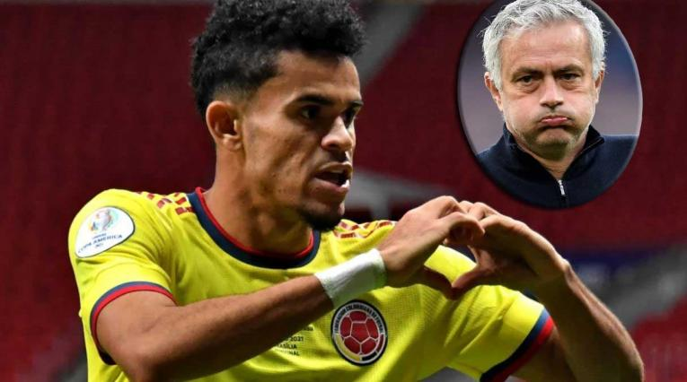 Luis Díaz y Mourinho