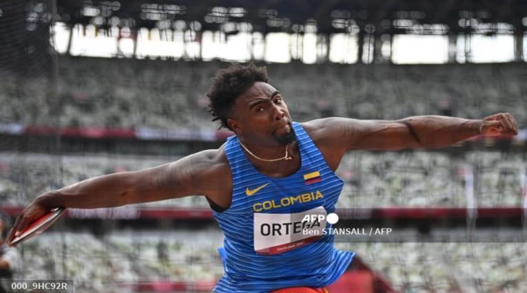 Mauricio Ortega en los Juegos Olímpicos de Tokio
