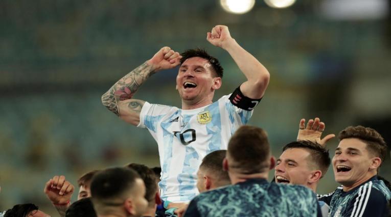 Messi, campeón de la Copa América