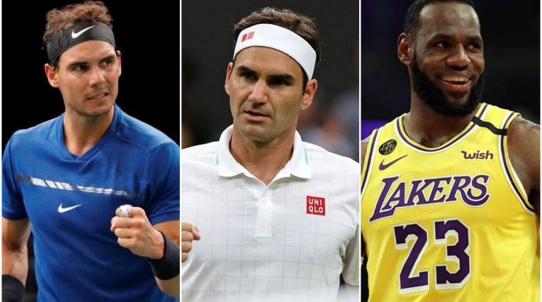 Nadal, Federer, LeBron