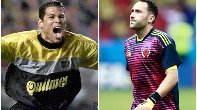 Óscar Córdoba y David Ospina