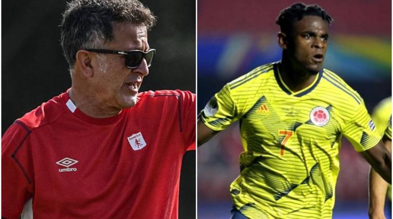 Juan Carlos Osorio y Duván Zapata