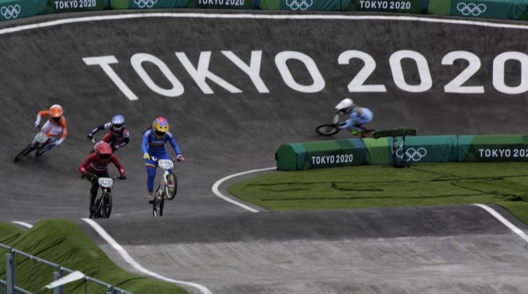 Mariana Pajón en el BMX de los Juegos Olímpicos