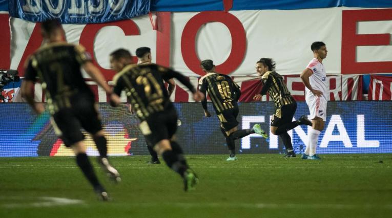Peñarol ganó en la Copa Sudamericana