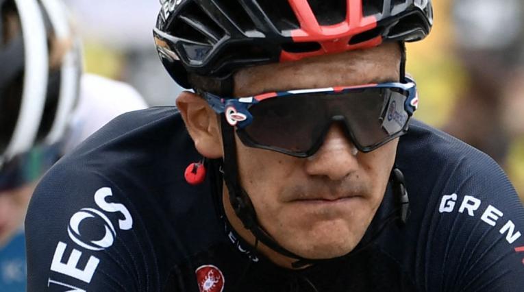 Richard Carapaz, Tour de Francia 2021 etapa 18