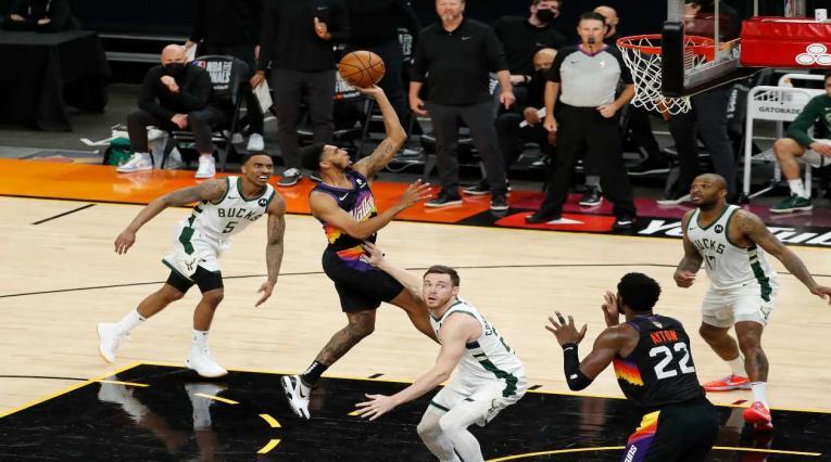 Suns Vs Bucks, final de la NBA