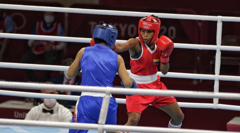 Íngrit Lorena Valencia, boxeadora colombiana