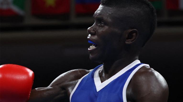 Yuberjen Martinez, Juegos Olímpicos 2021