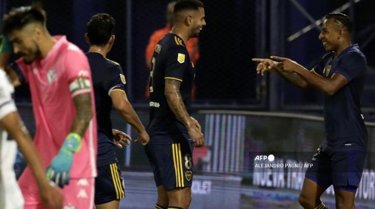 Edwin Cardona y Sebastián Villa - Boca Juniors