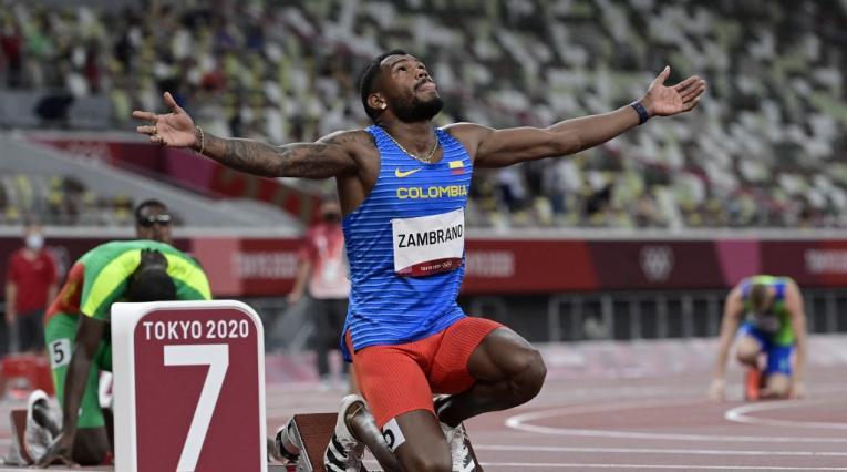 Anthony Zambrano, Juegos Olímpicos 2021