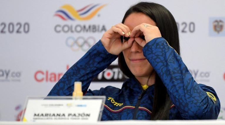 Mariana Pajón, ciclista colombiana