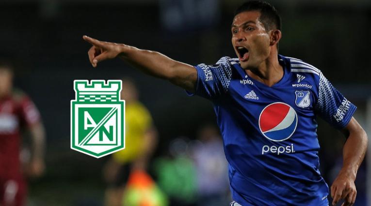 Macalister Silva y logo Nacional