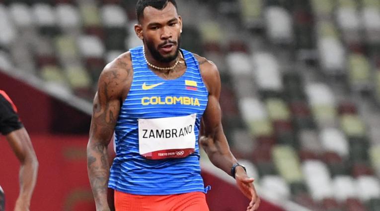 Anthony Zambrano, Juegos Olímpicos 2020