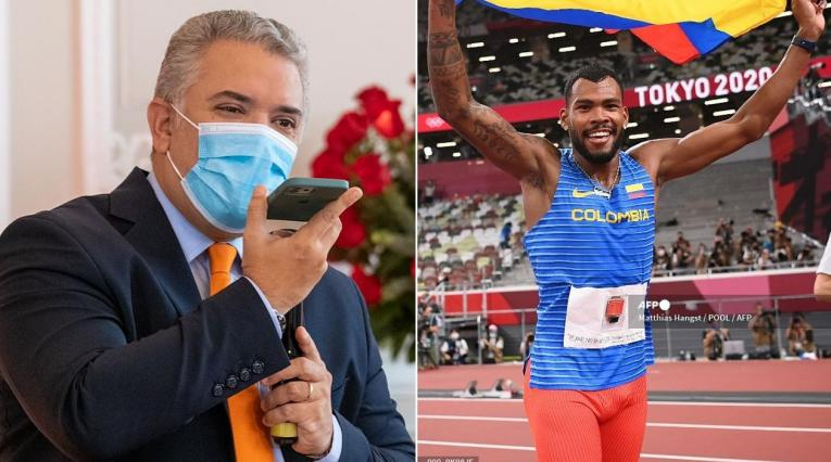 Iván Duque, Anthony Zambrano, Juegos Olímpicos
