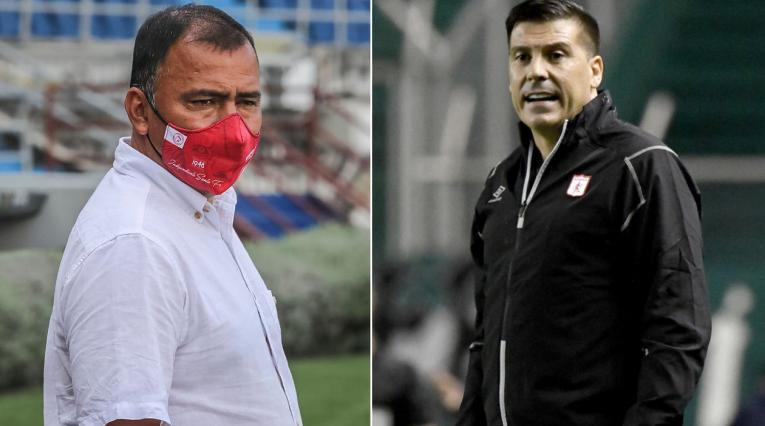 Hárold Rivera, Juan Cruz Real, Independiente Santa Fe