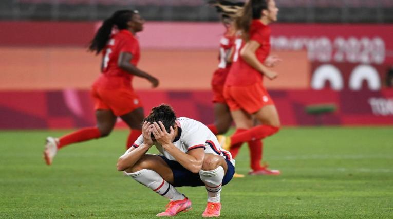 Canadá en el fútbol femenino de los Olímpicos