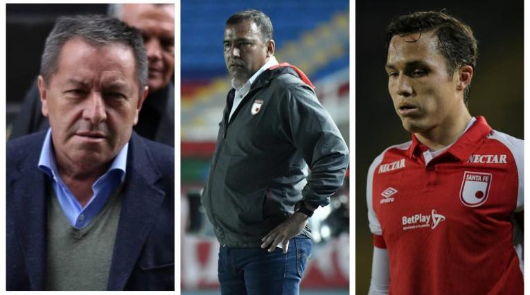 Eduardo Méndez, Harold Rivera y Seijas