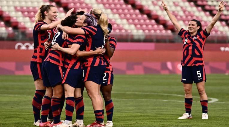 Estados Unidos, tercero en el fútbol femenino de los Olímpicos