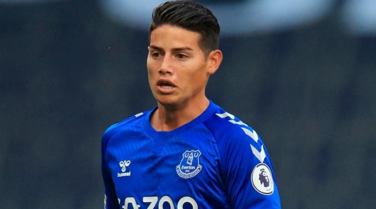 James Rodríguez no continuaría en Everton